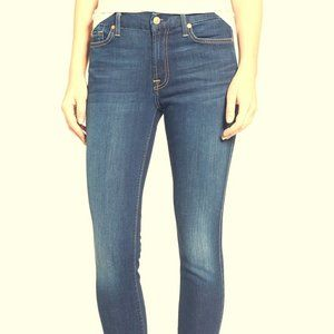 7 For all mankind b(air) Ankle Skinny blue 27